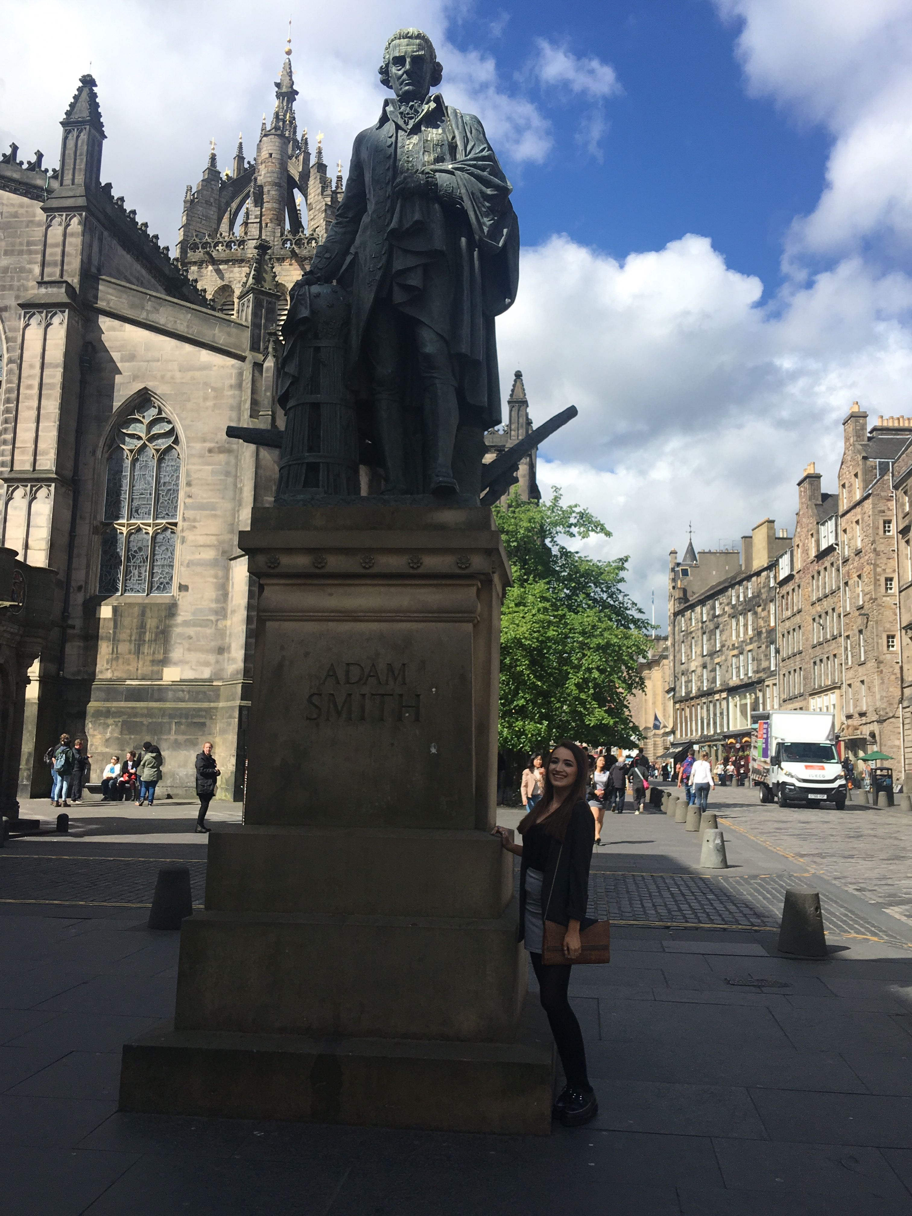 Edinburgh travel diary