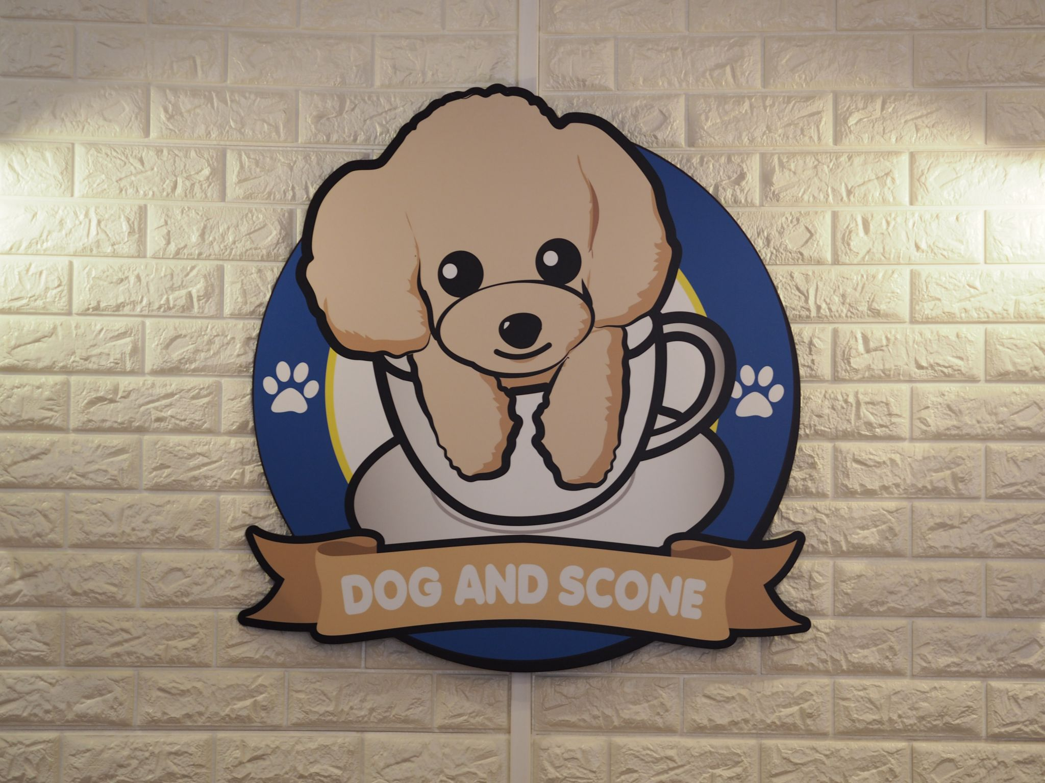 Dog and Scone