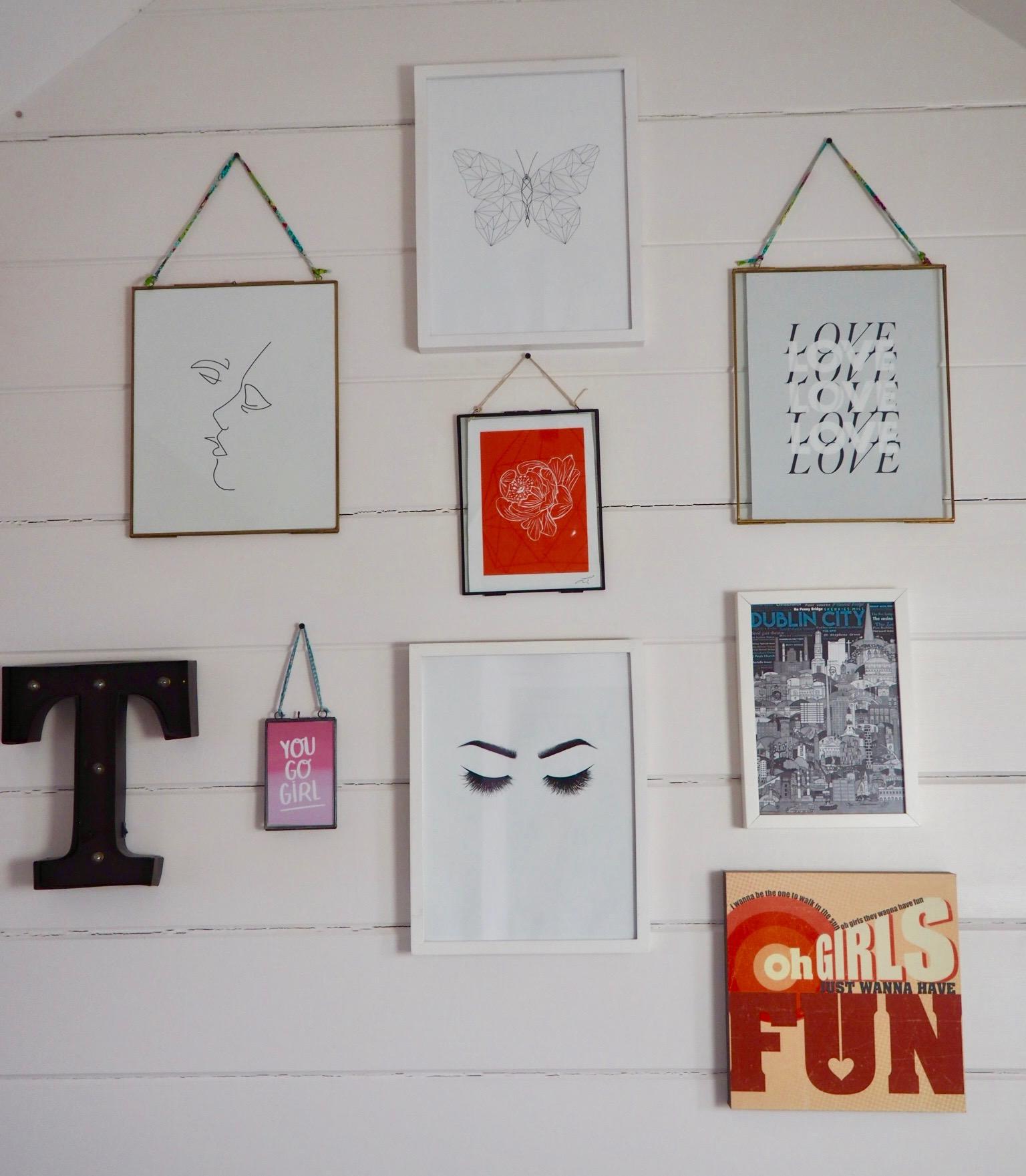 Gallery wall- interior inspiration